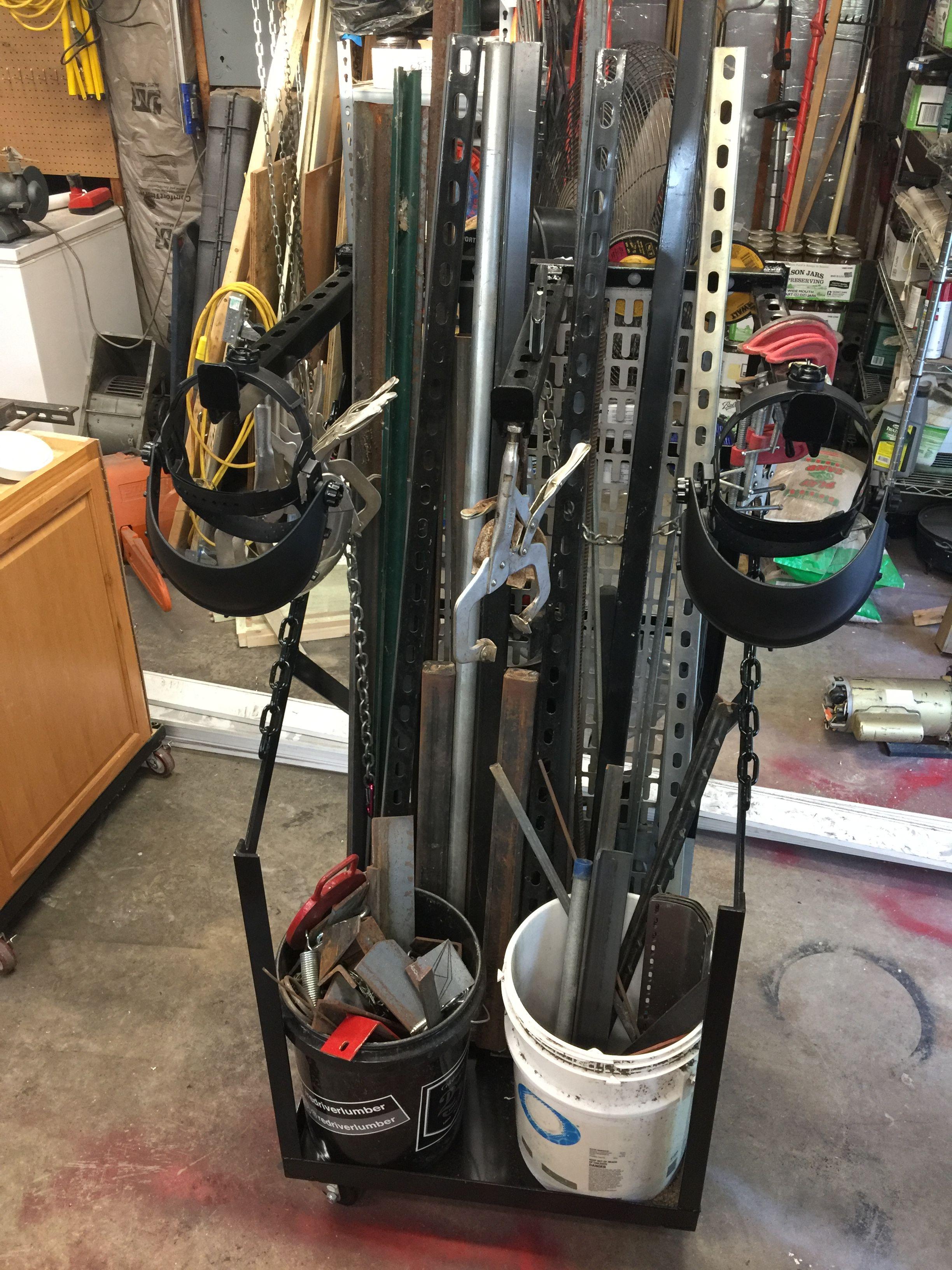 My Scrap Metal Iron Storage Rack Metaal Opslag Opslag