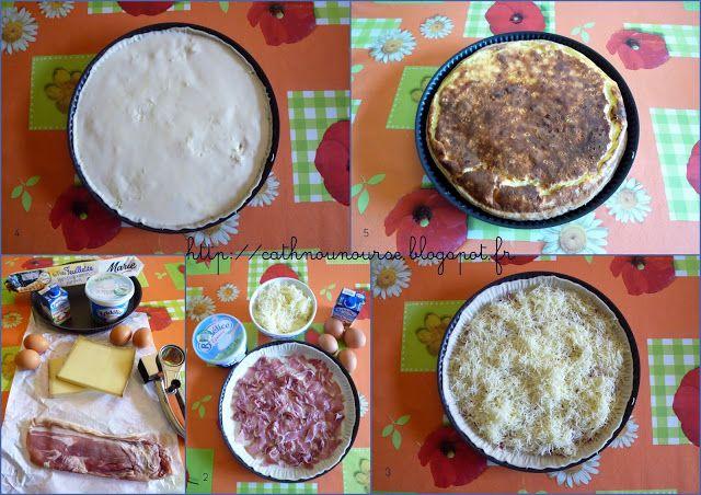 tarte jambon de Vendée/beaufort