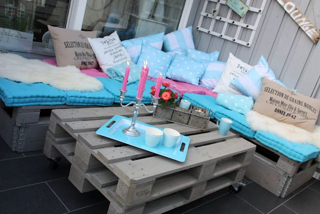 DAISYS HOME: how to make your own lounge of pallets! :)
