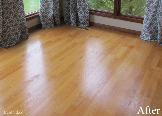 The Natural Hack For Restoring Hardwood Floors Diy Clean