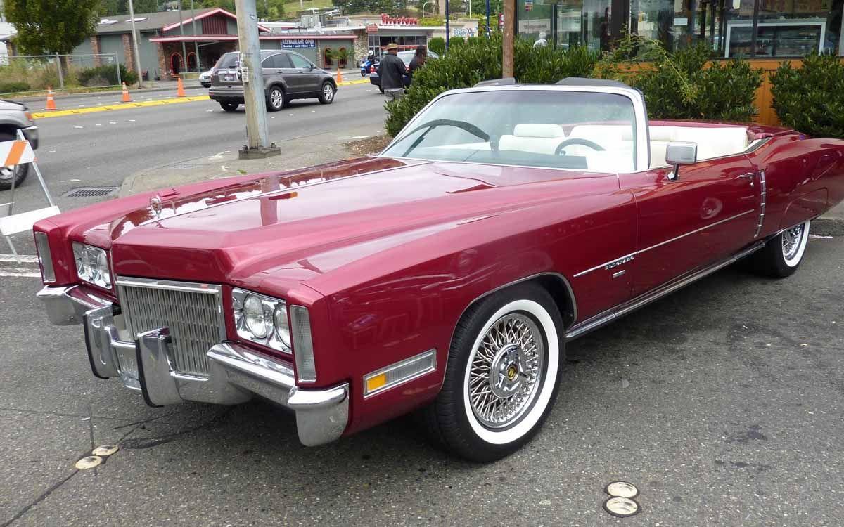 1971 Cadillac El Dorado Rental Los Angeles and Las Vegas | Classic ...