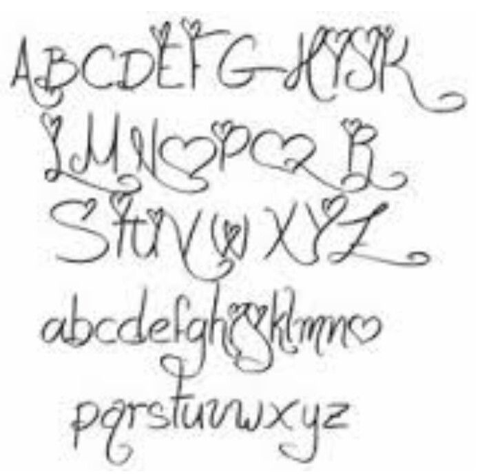 This Is The Font That Hannah And Aaron Done In Now I Have To Get Colby Put On