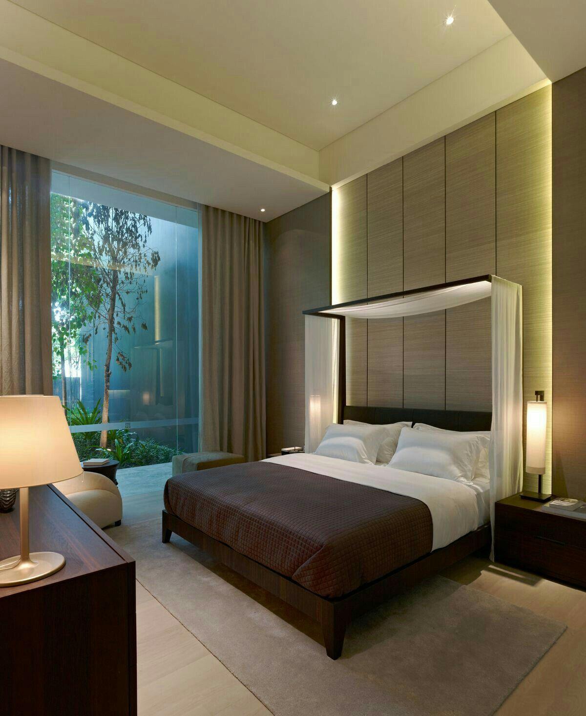Pin de patricia morales en bedroom pinterest raso y cielo - Dormitorios principales modernos ...