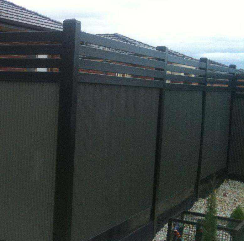 Backyard Boundary Fence Ideas