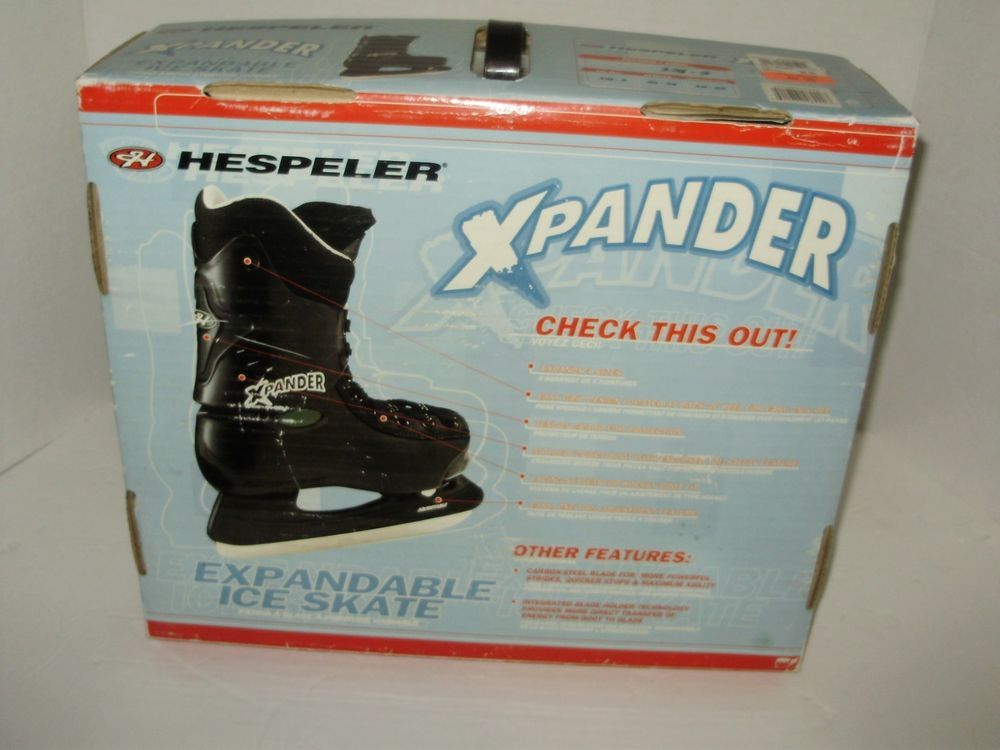 Hespeler Xpander Expandable Kids Ice Skates Size 13j3