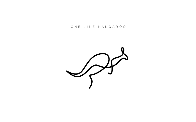 Minimalist Animal Logos Drawn With A Single Line By Differantly Designwrld Australia Tattoo One Line Animals Animal Logo