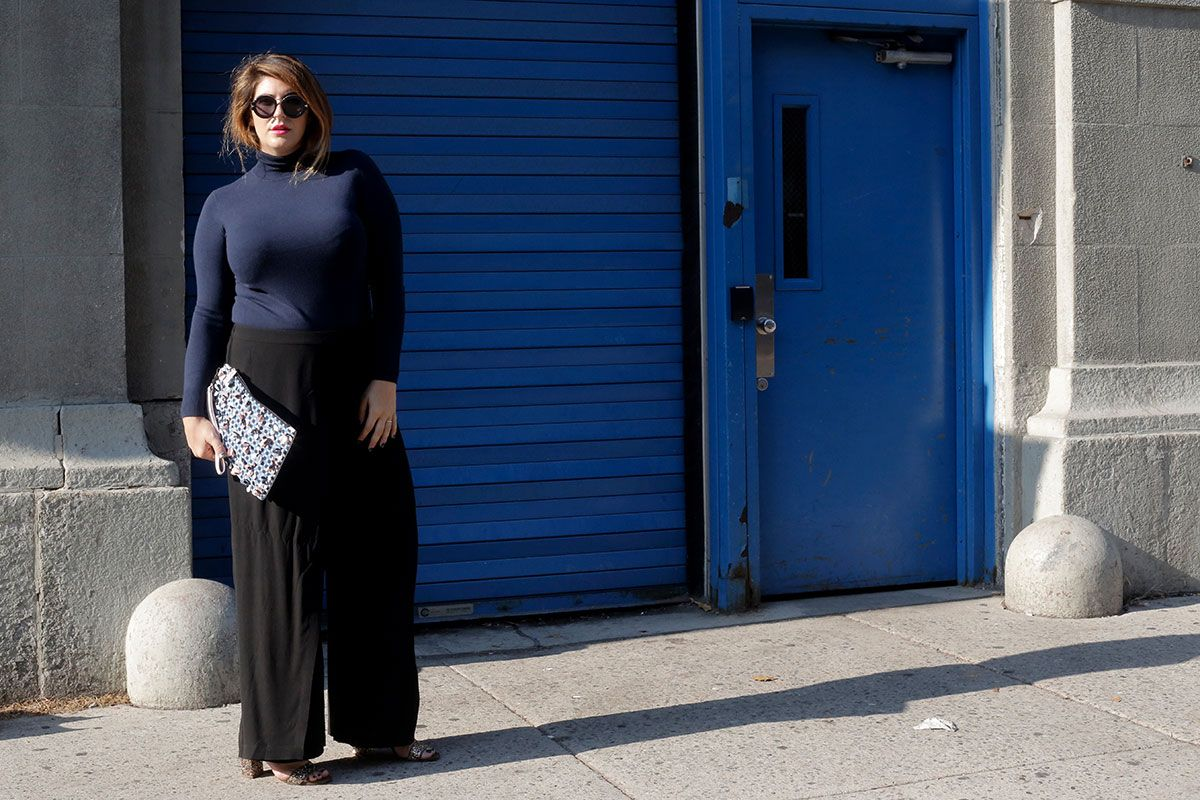 2bb24de097b7 Katie Sturino on Man Repeller. Wide Leg Pants. The 12ish Style ...