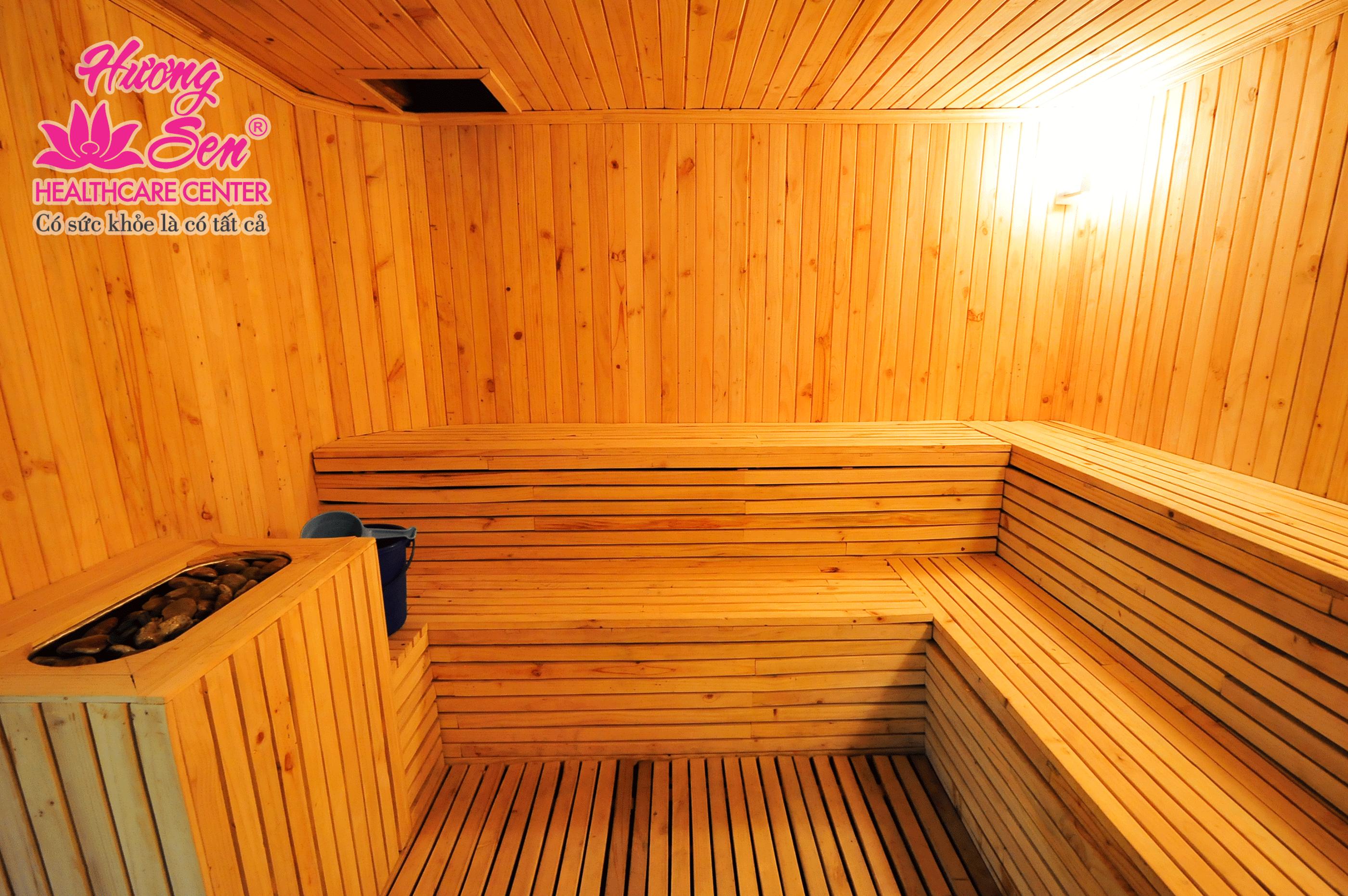 Sauna room in Huong Sen