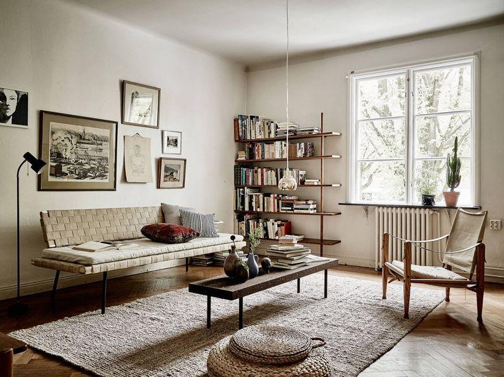 Living room with IKEA Sinnerlig collection wohnzimmer \/\/ living - wohnzimmer retro style