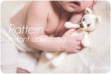 Little Bear pattern amigurumi toy