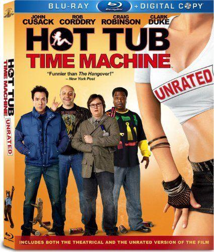 Hot Tub Time Machine 2010 Unrated Blu Ray Blu Ray John