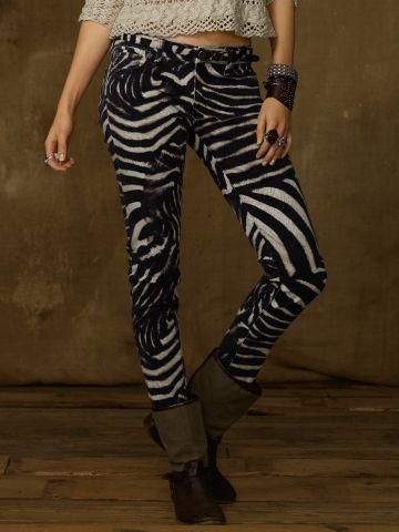 Zebra-Print Skinny Jean - Denim   Supply Skinny   Legging - Ralph Lauren  France 93f30c2e13f
