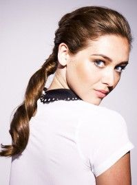 The hair trend that turned heads at the AW13 shows is easy to master with the right products - Tresemme pony tail