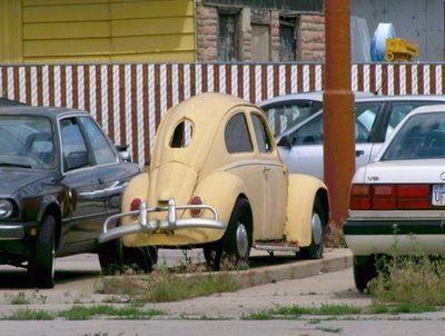 Skinny VW Bug