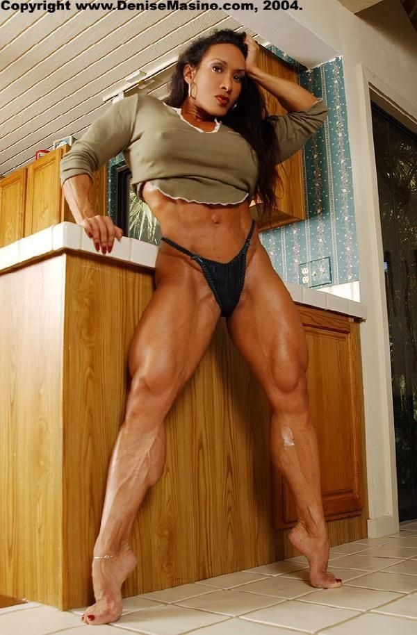 What phrase..., denise masino a girl her dog and a bone female bodybuilder