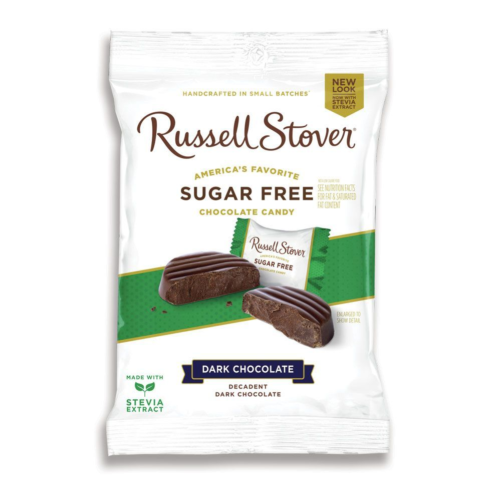 Image for sugar free dark chocolate medallions 3 oz bag