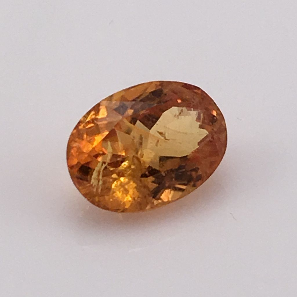rare carat minerals pin clinihumite and gemstone