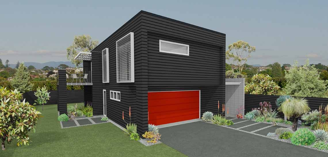 orakei 3 bedroom 2 storey house design landmark homes builders nz
