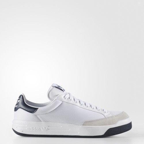 BB8563 MEN ROD LAVER SUPER ADIDAS WHITE NAVY | Jet.com