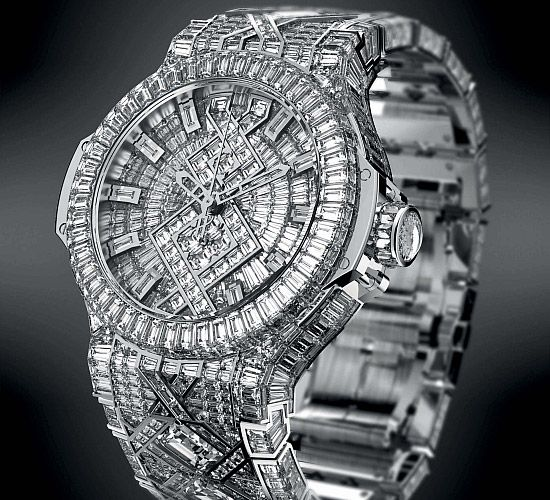 d3068246527 Top 10 Most Expensive Watches over  2 million  Hublot Big Bang Diamond -  Rich and Loaded