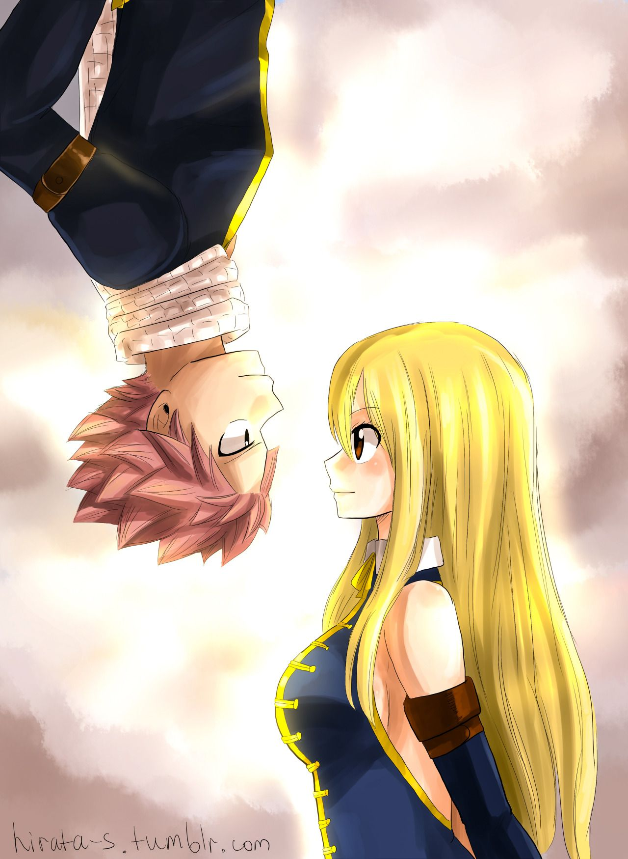 nalu。。。。。。。you now I would be freaking out because natsus