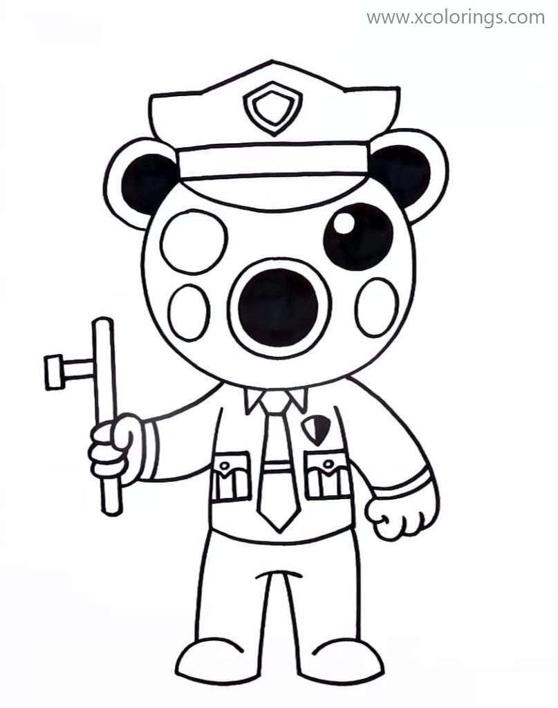 Piggy Para Colorear Pintar E Imprimir Coloring Pages Fnaf Coloring Pages Cool Coloring Pages