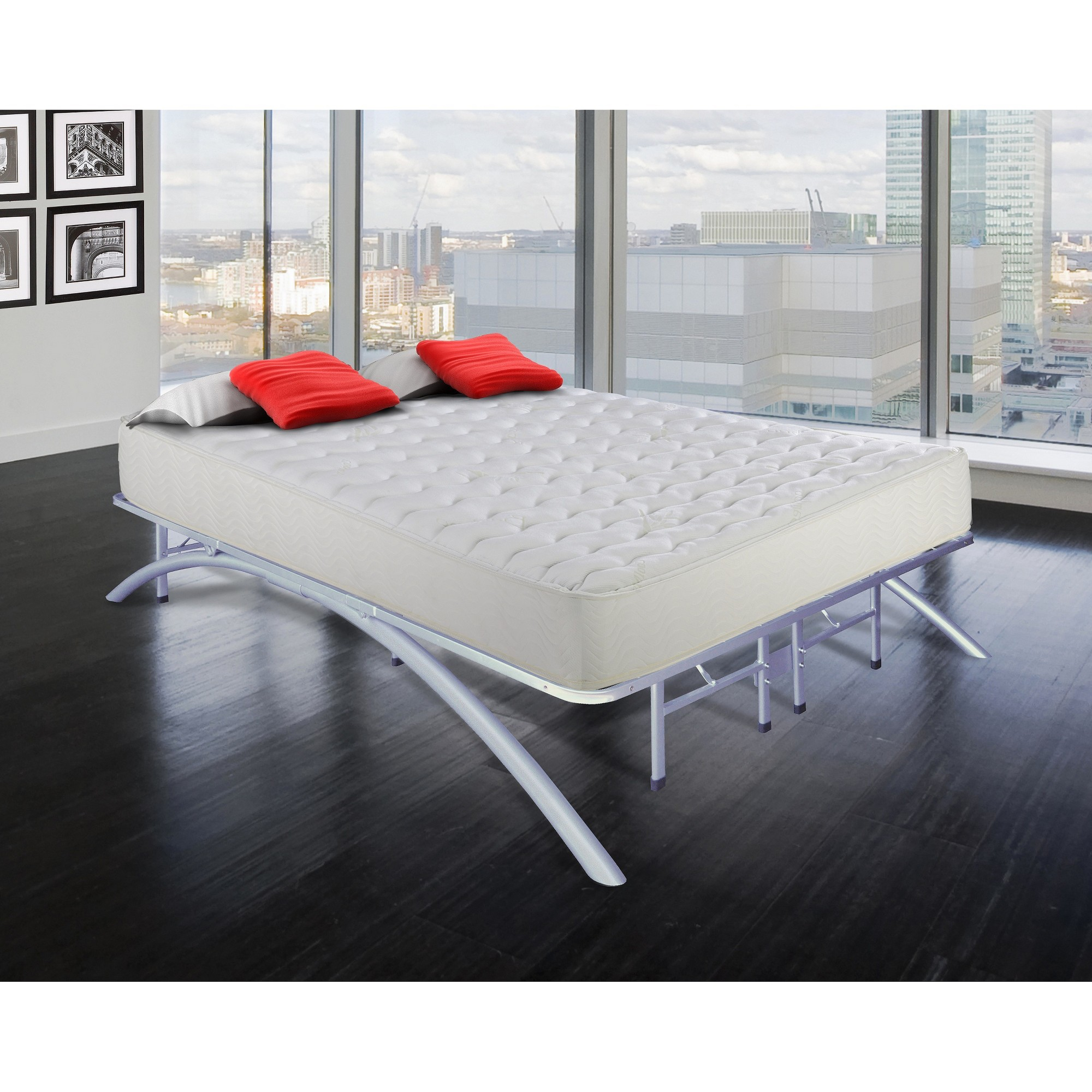 Arch Support Metal Platform Bed Frame (Twin)  Eco Dream,