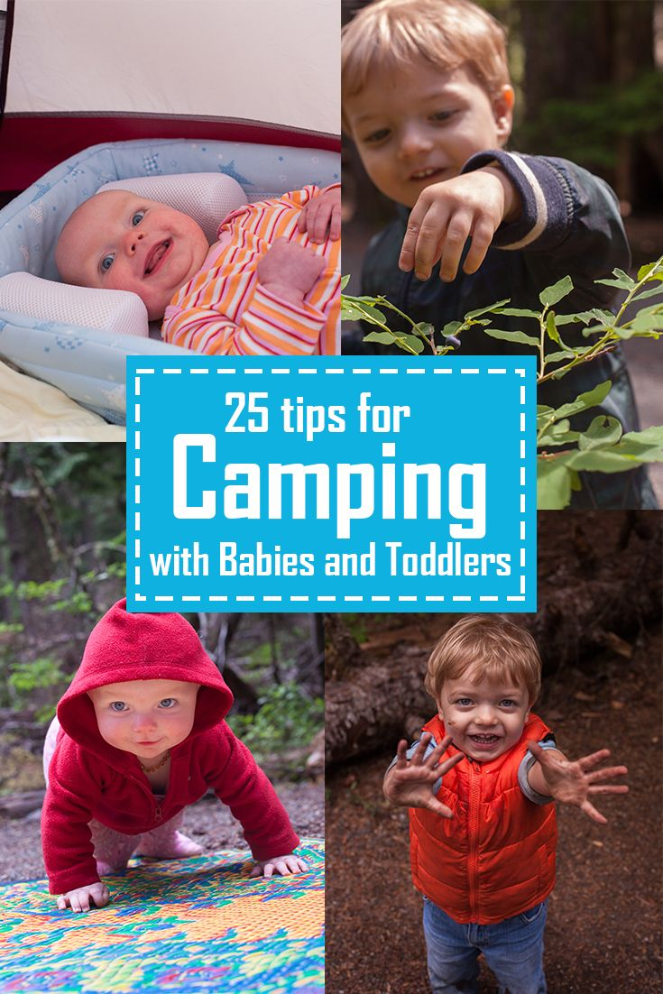 Tips for Camping with Toddlers and Babies