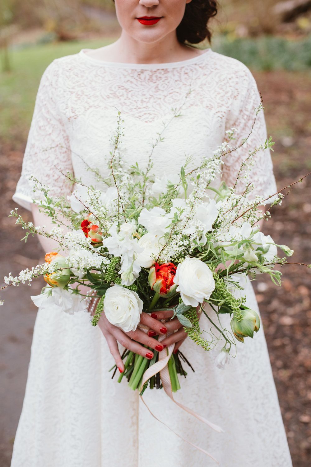 Rustic and Retro Styled Shoot in Glasgow Botanic Gardens ...