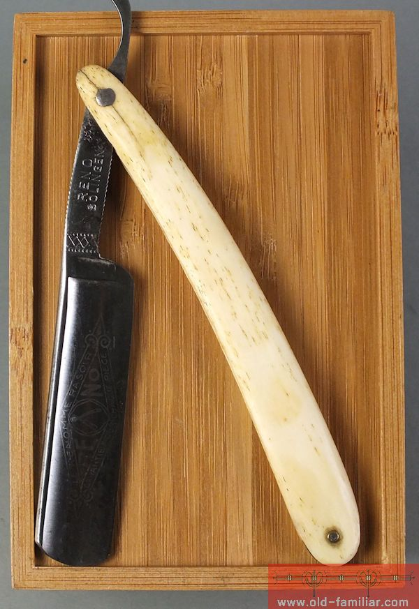 Reno Solingen Rasiermesser ,straight razor, coupe choux,