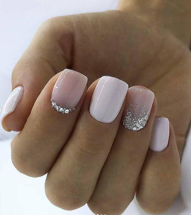 87 korte en schattige acryl vierkante nagelideeën voor zomernagels –