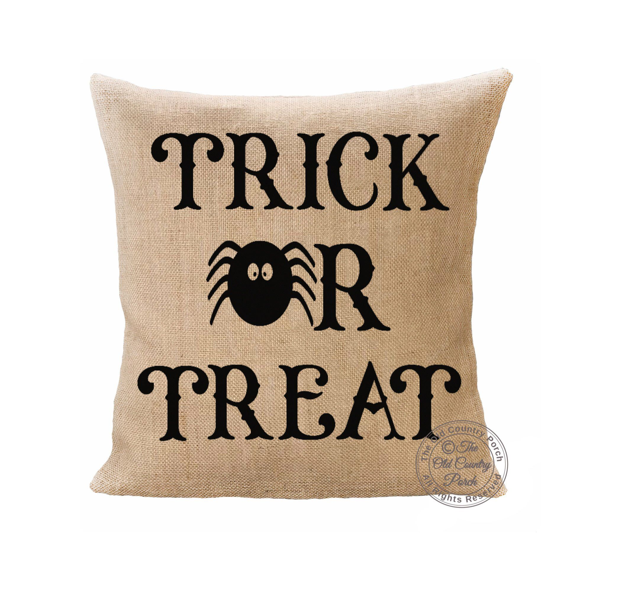 Trick or Treat Pillow Cover | Halloween