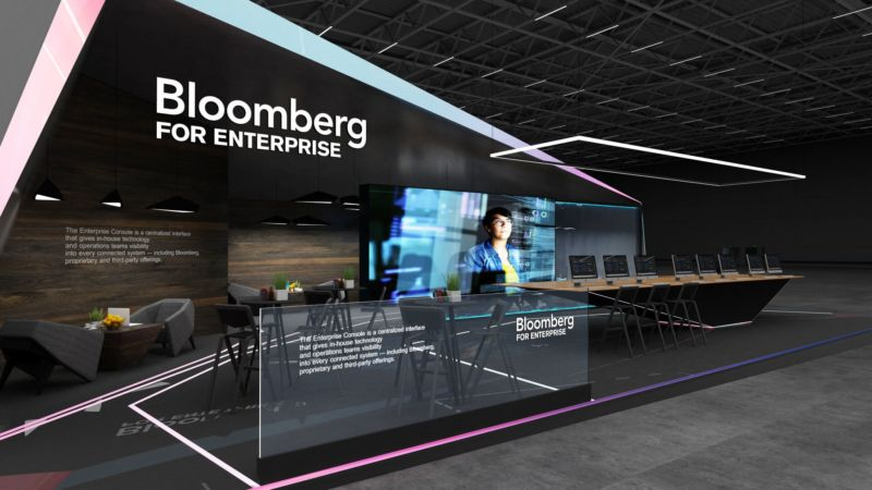 Bloomberg Exhibition Booth Design Concept Booth Design