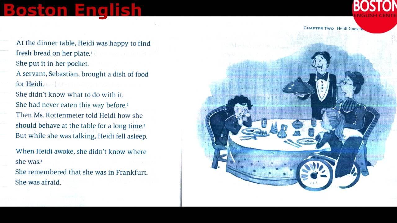Learn English through stories | HEIDI - English audiobook