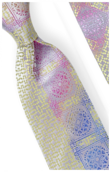 Tie and Hanky Set | 100% silk | Big-Knot | W766