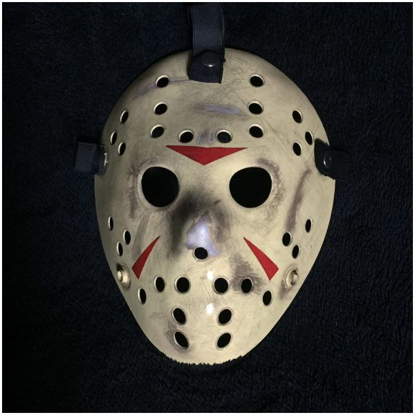 Deluxe Jason Hockey Mask Part 3 49 95 Hand Created By Uk Horror