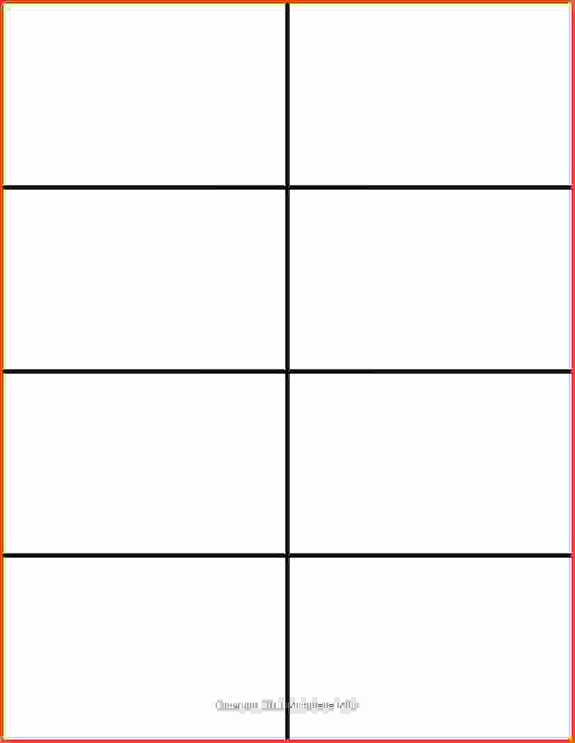 Free Downloadable Word Templates New Flash Card Template Word