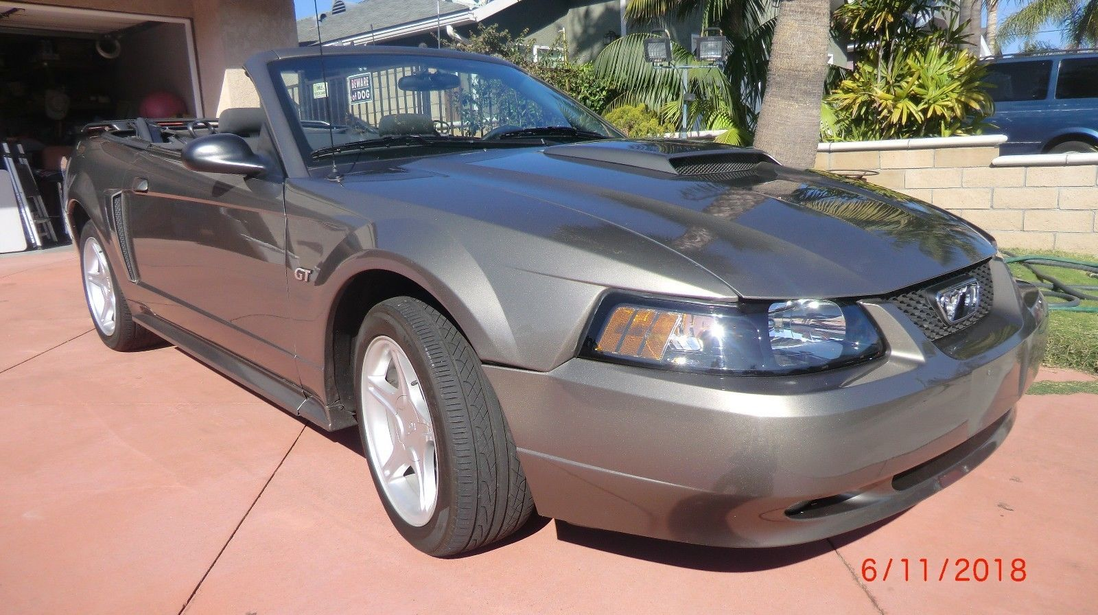 Ebay 2002 Ford Mustang 2002 Ford Mustang Gt Convertible Vin