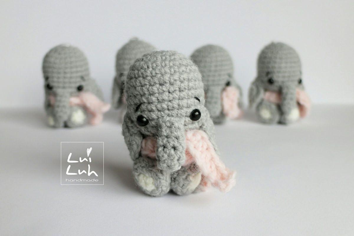 Elefanthäkelnanleitungkostenlos Häkelei Pinterest Elefant