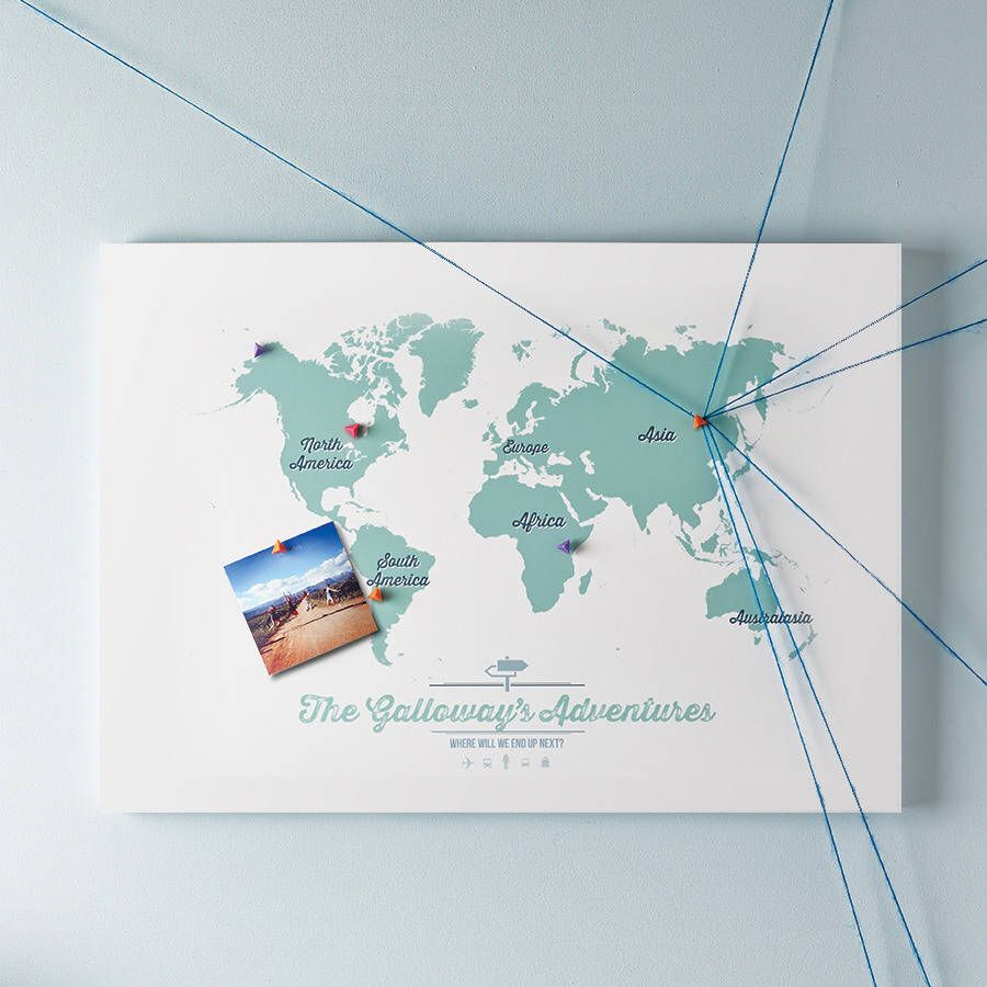 Personalised map of the world pinboard pinterest travel maps ive just found personalised map of the world pinboard our personalised travel map of the world makes the perfect gift for the travel enthusiast 6000 gumiabroncs Images