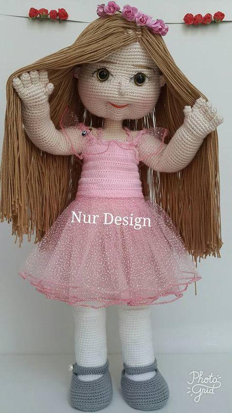 Amigurumi Bebek Elbisesi Yapımı | Bebek elbiseleri, Bebek elbisesi ... | 842x474
