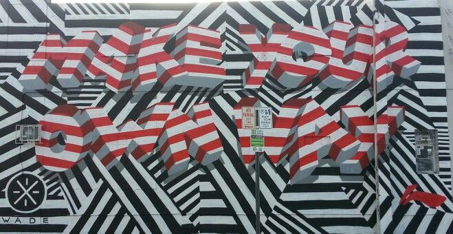 Miami wall art is always interesting.
