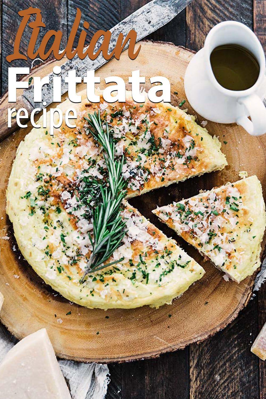 Easy italian frittata recipe frittata recipes food