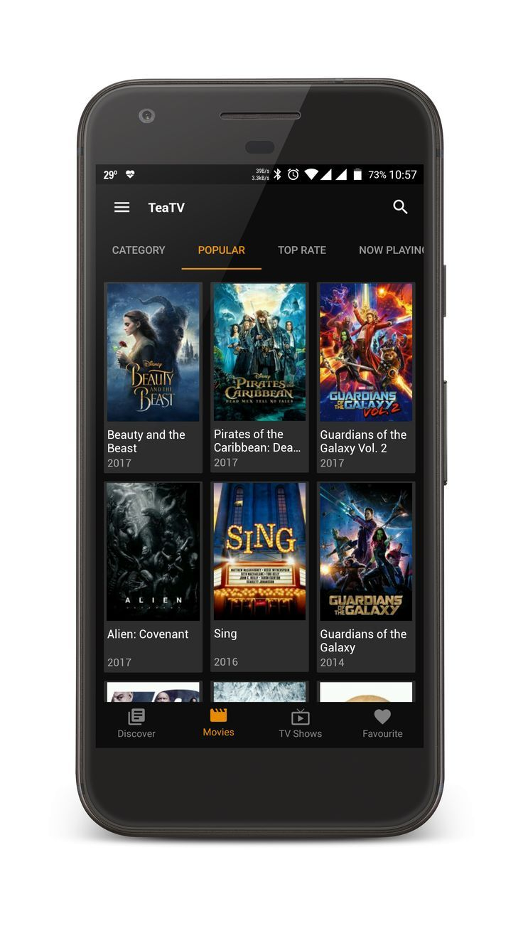 TeaTV Best Free 1080p HD Movies TV Show App For Mobile