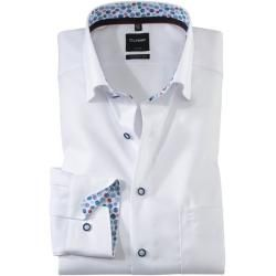 Photo of Olymp Luxor Hemd, modern fit, Under-Button-down, Weiß, 42 Olymp