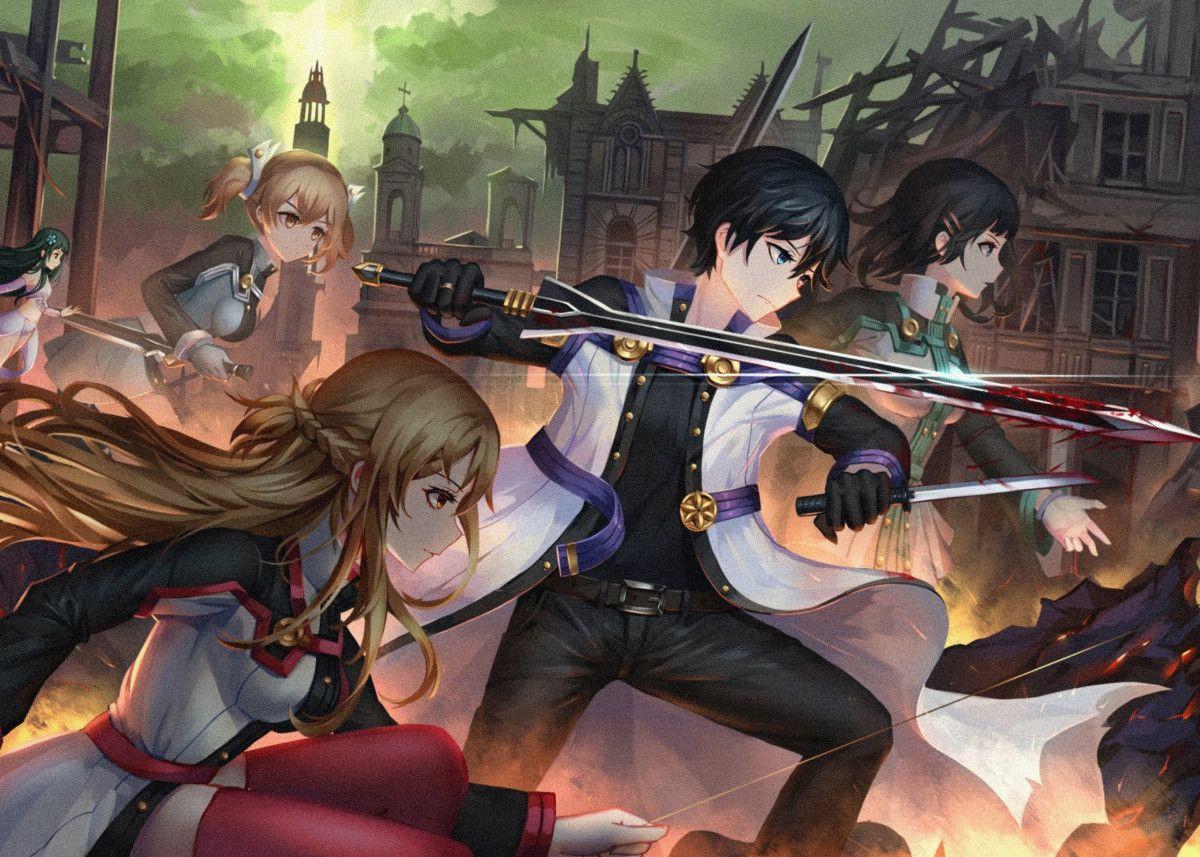 'Anime Sword Art Online' Metal Poster Print jihn Baze