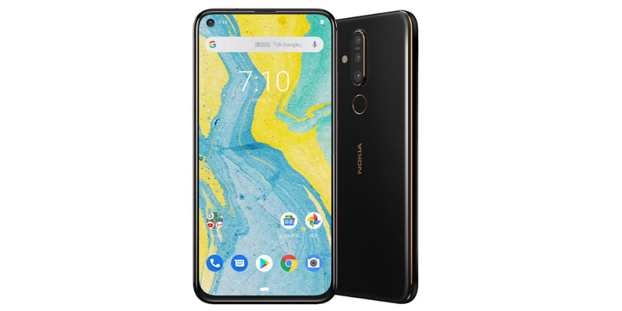 Nokia X71 with a 6.3inch PureDisplay, Snapdragon 660, in