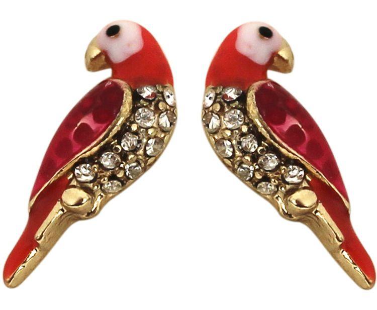 Fire Parrot Earrings$13. http://www.udobuy.com/goods-11181.html