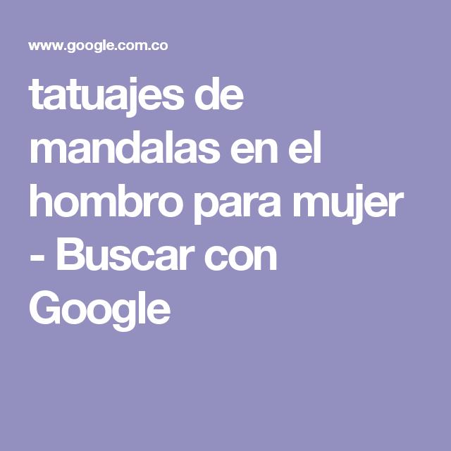 tatuajes de mandalas en el hombro para mujer - Buscar con Google