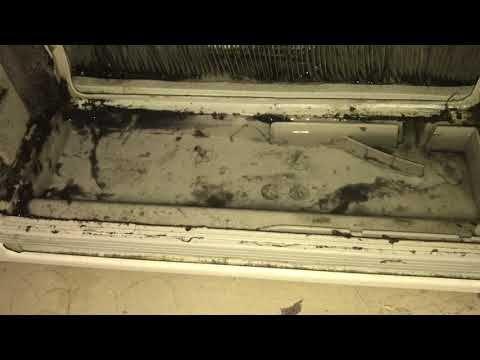 Wärmetauscher bei einem AEG Trockner reinigen YouTube